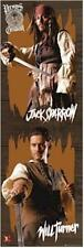 PIRATES OF THE CARIBBEAN ~ SWORDS DOOR 21x62 Johnny Depp Orlando Bloom