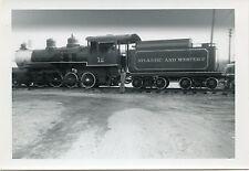 6E243 RP 1968 ATLANTIC & WESTERN RAILROAD ENGINE #12 SANFORD NC