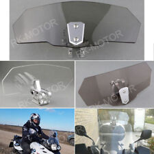 Windshield High Windscreen Extension Spoiler For Buell XB12X Ulysses Light Gray