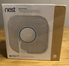 Google - Nest Protect 2nd Generation Smart Smoke/Carbon Monoxide Wired Alarm ...