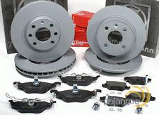 Opel Astra G - Zimmermann Bremsscheiben 4 Loch Beläge für vorne hinten