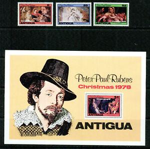 ANTIGUA   - 1978 – PETER PAUL RUBENS PAINTER  – VF  **