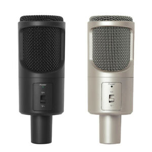 Yanmi Professional Condenser USB Sound Podcast Studio Microphone For PC Gaming