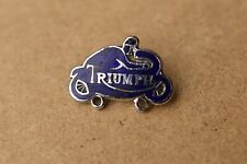Vintage Triumph  Motorcycles   Pin  badge By Aviakit Motor Bike Collectable