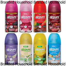 12 X AIRPURE AUTOMATIC SPRAY REFILLS AIR FRESHENER FRAGRANCE 250ML CHOOSE SCENT