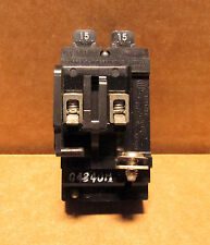 ITE 15 / 15 Amp Pushmatic Circuit Breaker Twin Pole, P1515 Tandom
