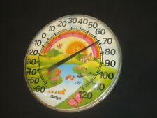 ArtLine Thermometer Works Sunshine River Fish Duck Turtle Nature Cottage (Y432)