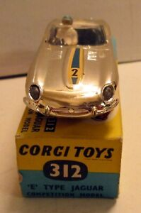 Corgi Toys, 312 Jaguar 'E' Type Competition Model,     original