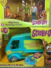 Nouveau SCOOBY DOO goobusters 5 action figures & mystery machine playset