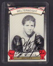 Jake Rodriguez 1992 Brown's Boxing Autographed Signed jh59