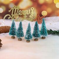 5Pcs 1: 12 Dollhouse Miniature Christmas Tree Christmas Decorations Suppl SJ *u