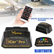 Bluetooth 3.0 ELM327 OBDII OBD2 Car Diagnostic Scanner For Android iCar Pro Code