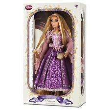 "Disney Store Limited Edition Purple Rapunzel Doll 17"" LE Tangled Princess"