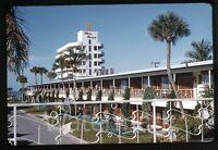 1962 kodachrome photo slide Three Crowns Hotel  Sarasota Fl  #4  FL21