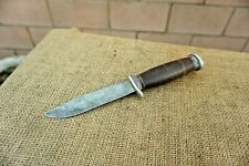 Vintage SCHRADE N.Y. USA Model H-15 Hunting Bowie Knife