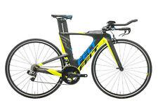 2017 Felt Ia 14 Triatlón Bicicleta 48cm Carbono Sram Rojo Etap 11 Speed Prologo