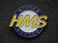 VINTAGE METAL PIN HMS PRIDE
