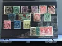 Canada 1893-1908   used  stamps  R27764