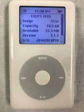 Apple iPod Classic 4th Generation White (20 Gb) Version 3.1.1- Good