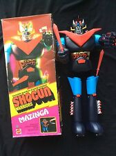 "MATTEL SHOGUN WARRIORS MAZINGA 24"" Jumbo Original Box VTG 1976"
