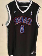 Adidas NBA Jersey Oklahoma City Thunder Russell Westbrook Black Alt sz XL