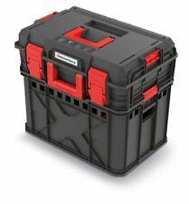 Werkzeugkasten Set Werkzeugkoffer + Lagerkiste Werkstatt Transportbox Toolbox