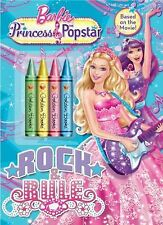 Barbie The Princess & the Popstar Rock & Rule w/ Crayons