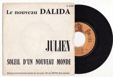 RARE SP PROMO -DALIDA-JULIEN-SONOPRESSE 20506-FRENCH