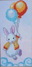 Hase Kinder Motiv Stickpackung mit Perlen Stickset Stickvorlage Stickbild 32