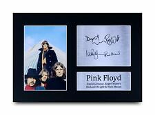 Pink Floyd Signed Pre Printed Autograph A4 Photo Gift For a Rock Fan