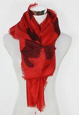 ESPRIT Print Schal Webschal Viskose berry red rot NEU UVP 25,95€