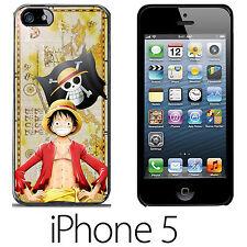 One Piece Rufy Luffy Mujiwara Pirates COVER RIGIDA CUSTODIA IPHONE 5