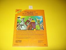 A3 ASSAULT ON THE AERIE OF THE SLAVE LORDS DUNGEONS & DRAGONS AD&D 3 1ST PRINT