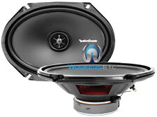 "ROCKFORD FOSGATE R168X2 PUNCH PRIME 6X8"" 5x7"" CAR COAXIAL 2-WAY SPEAKERS NEW"