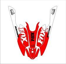KAWASAKI 800 SXR jet ski STAND UP wrap graphics pwc up jetski decal kit 6