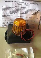 144845 Amber Strobe Light 12-80VDC MeteorLite