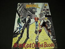 New Kids On The Block 1990 Revolutionary Comic Book First Print mint condition