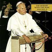 The Rosary by El Papa Juan Pablo II/Pope John Paul II (Pope) (CD, Dec-1994, 2 Di