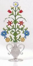 Schweizer Pewter Flowers In A Vase FC19P For Wee Forest Folk