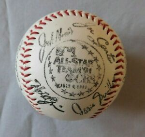 1991 All Star Game Signed Facsimile Baseball