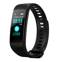 Fitness Sports Smart Bracelet Heart Rate Monitor Tracker Wristband Notification