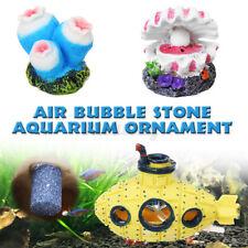 Air Bubble Stones Aquarium Oxygen Fish Tank Landscaping Ornaments   U1