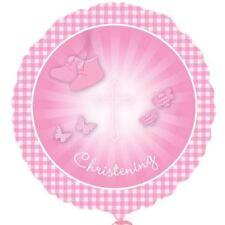 Baptême Petite Bottes Rose Ballon Plat Religion Bébé Décoration de Fête