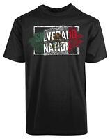 Silverado Nation New Men's Shirt Country Flags Designs Patriotic Round Neck Tee