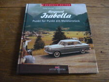 BORGWARD ISABELLA CAR BOOK