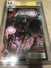 New Avengers 31 CGC SS 9.8 Mike Deodato Dr. Strange Cover Endgame Movie