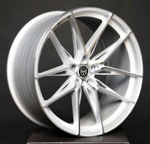 4 GWG HP1 20 inch Silver Rims fits FORD TRANSIT CONNECT VAN