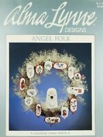 Cross Stitch Chart Alma Lynne Designs ANGEL FOLK Counted Cross Stitch