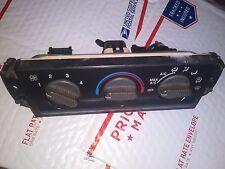 98 S10 S15 PICKUP BLAZER ENVOY TEMPERATURE CONTROL W/AC GM 09351325
