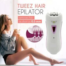 Tweez Hair Epilator - New Women Automatic Electric Facial Hair Remover Catcher